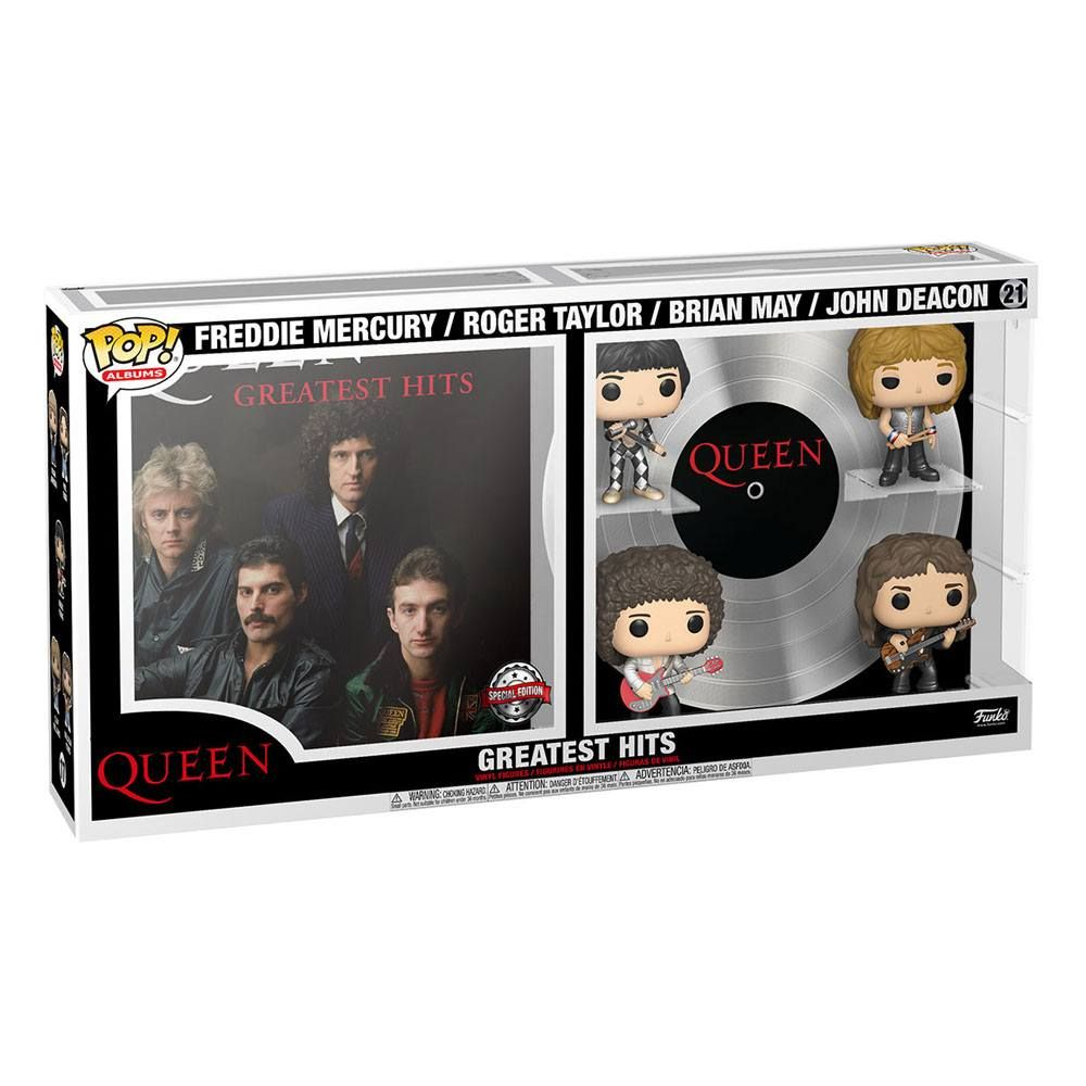 QUEEN GREATEST HITS 4 PACK POP